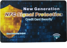 RFID Blocking card - This product is specialized in blocking high frequency(13.56mhz) RFID smart cards, such as credit cards, E-passport, membership cards, identification cards, transportation cards and so on. Once putting the blocking card with 13.56mhz smart cards, the signal of the smart cards will not be detected by the scanner.