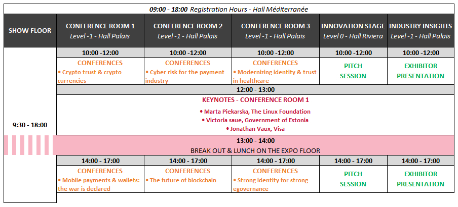 Agenda at a glance Day 2